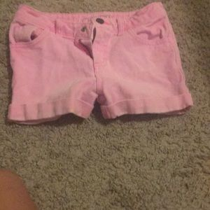I am selling these pink shorts